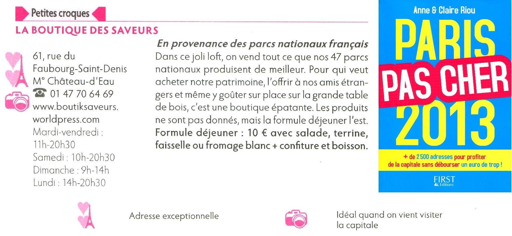 En provenance des parcs nationaux fran ais boutique des saveurs epicerie fine d gustations - Boutique des musees nationaux ...