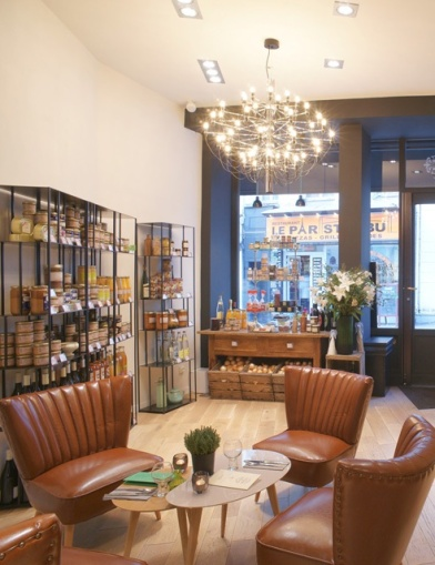 boutique des saveurs aux petits carreaux paris so. Black Bedroom Furniture Sets. Home Design Ideas