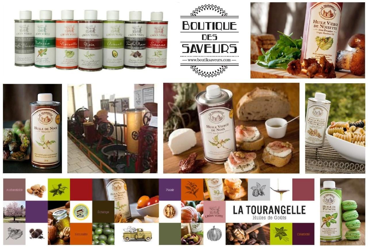 Boutique Des Saveurs - www.boutiksaveurs.com / Huiles Croix Verte - La Tourangelle