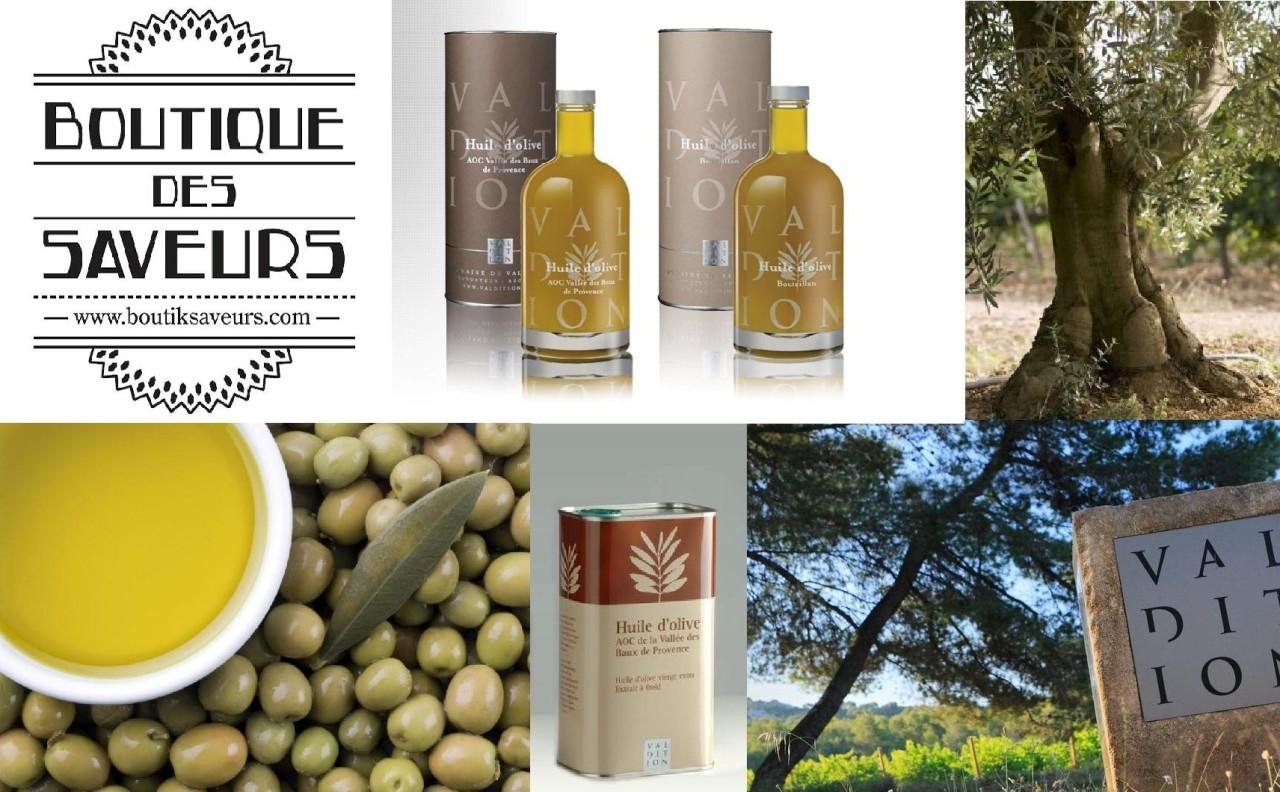 Boutique Des Saveurs - www.boutiksaveurs.com / L'HUILE D'OLIVE : L'OR DU TERROIR PROVENÇAL - Domaine VALDITION