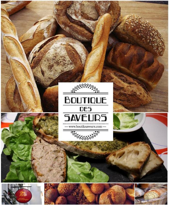 Boutique Des Saveurs - Epicerie Fine & Dégustations - Paris - www.boutiksaveurs.com / Pain
