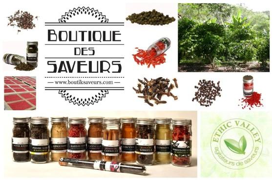 Boutique Des Saveurs - Epicerie Fine & Dégustations - Paris - www.boutiksaveurs.com / Epices